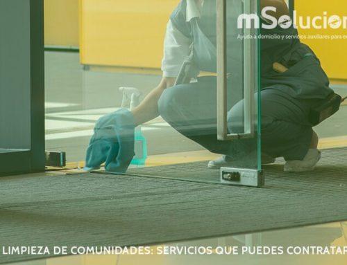 Limpieza de comunidades: Servicios que puedes contratar